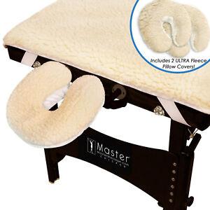 Master Massage Ultra Fleece Massage Table Pad Set
