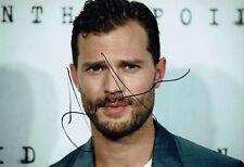 Jamie DORNAN SIGNED Autograph Christian GREY 50 Shades of Grey Photo 2 AFTAL COA