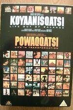 Koyaanisqatsi / Powaqqatsi (DVD, 2-Disc Box Set) . FREE UK P+P .................