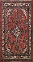 Floral Semi Antique Traditional Area Rug Handmade Oriental Foyer Wool Carpet 4x7