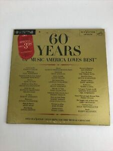 RCA/Victor LM-6074 Various Artists - 60 Years Of Music America Loves Best 1959