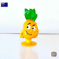 Stikeez PINEAPPLE - ORANGE version - RUSSIA STIKEEZ *NEW* RARE