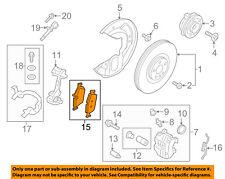 VOLVO OEM 17-18 S90 Brake-Front-Brake Pads 31423652