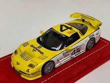1/43 Minichamps Chevrolet Corvette C5R 2000 Sebring Car #4 Alcantara base A1093