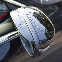 FITFOR VW JETTA PASSAT B7 CC 2012- CHROME SIDE DOOR WING MIRROR COVER RAIN VISOR