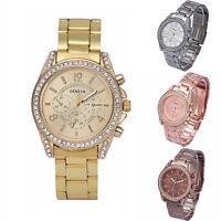 GB Fashion Geneva Reloj De Mujer reloj Cristal Estrás Reloj De Pulsera Mujer