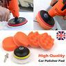"3"" Car Polisher Buffer Gross Polish Waxing Buffing Polishing Sponge Pads Kit Set"