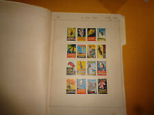 Australia Poster Stamp Collection