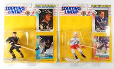 1993 Slu Hockey Figures Jaromir Jagr and Mark Messier Nip