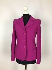 ARMANI Collezioni Women's Blazer Jacket 100% Wool Size 40