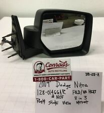 USED Vintage Dodge Nitro 2009' Right side view mirror (drivers Quality)