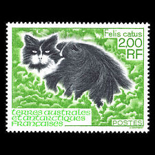 TAAF 1994 - Antarctic Fauna Cats Animals - Sc 195 MNH
