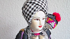 Gorgeous Thai Doll in Native Colorful Costume from Thailand Hand Made