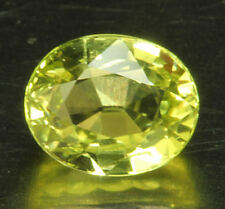 CHRYSOBERYLL        tolle Farbe und Feuer      1,20 ct