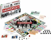 THE BEATLES COLLECTOR'S EDITION MONOPOLY BRAND NEW 6 X METAL TOKENS HASBRO
