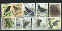 MNZ93) New Zealand 1988 Birds MUH set of 10