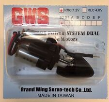 GWS IPS Dual Motors RC Power System 7.2V with 3.5:1Gear Ratio Dual Ball Bearing