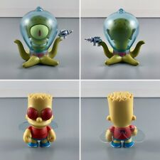 Kidrobot The Simpsons Treehouse Of Horror 3-Inch Vinyl Figures Kodos & Fly Bart