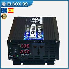 Inversor Inverter 1000W / 2000W 24V Onda Sinusoidal Pura Pure Sine Wave