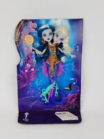 Monster High Mattel Scarrier Reef Peri and Pearl Serpentine Doll loose