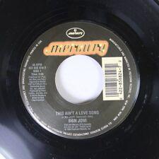 Rock 45 Bon Jovi - This Ain'T A Love Song / Always (Live At A&M Studios) On Merc