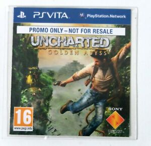 Uncharted Golden Abyss Promo for Playstation Vita PSVITA - Free Postage