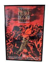 More details for royal opera house vintage poster framed of prince igor 1990