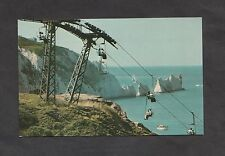 Dated 1979 View of The Chairlift, Alum Bay, Isle of Wight