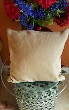 """NWT Ralph Lauren Deauville Gold W/ Gold Sparkle Throw Pillow 18""""x18"""" Msrp $215"""