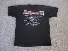 Vtg 1991 Pigface Nin Trent Reznor Tour Concert Single Stitch Men'S T-Shirt 90's