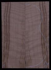 Curly Redwood #09 Ukulele Topwood Baritone Size Luthier Tonewood