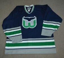 Vtg Hartford Whalers CCM Authentic NHL Hockey Jersey Sz 54 #93