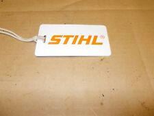 Stihl 066 046 MS660 MS460 Chainsaw Luggage Tag Logger Woodcutter Ships Free