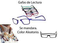 Gafas De Lectura Color Aleatorio De 1.00 Dioptrías Vista Cansada Imán Unisex