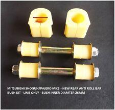 Accoppiamenti: MITSUBISHI Pajero / Shogun 1990-2000 LWB V44 / 46 REAR Anti Roll Bar Bush Kit