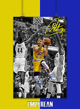 Steph Curry SPOTLIGHT Golden State Warriors Champion Poster Print