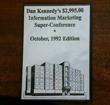 Dan Kennedy $2,995.00 Information Marketing Super Conference Oct 1992  6 CD Set