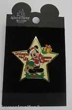 Disney Pin Pics 8769 WDW Christmastime in the City Mickey Mouse in Star Pin