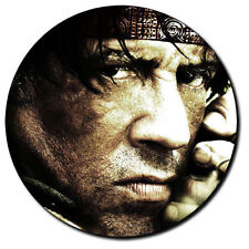 Parche imprimido, Iron on patch /Textil Sticker/ - Rambo, Sylvester Stallone