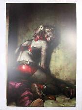 "DCEASED #1 (HARLEY QUINN) ART PRINT by Jeehyung Lee ~ 12"" x 16"" ~ DC Comics"