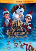 Elf Pets Santas St Bernards Save Christmas  New DVD Elf on the shelf sequel  R4
