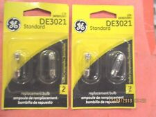 DE3021--GE--LOT OF--4--Glove Box Light Bulb-Standard Lamp -DE3021/BP2