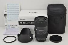 SIGMA Art 18-35mm F1.8 DC HSM Wide Angle AF Zoom Lens for Nikon F Mount #170428a