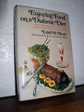 Enjoying Food on a Diabetic Diet by Edith Meyer (1971,HC,DJ,First Edition)