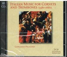 AAVV: Música Italiana Para Croissants Y Trombón 1580-1680/Concierto Palatino CD