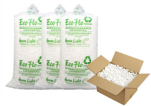 Biodegradable Loose Fill Void Filling Filler Eco Packing Peanuts Chips Bag FREE