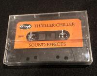 Fun World Thriller/Chiller Sound Effects Cassette Tape Vintage