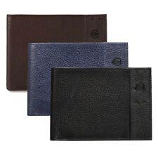 Portafoglio PIQUADRO Pelle P15 plus Portacarte 2.5x9x12.5 cm porta documenti ...