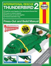 HAYNES THUNDERBIRD 2 CONSTRUCTION BOOK - RETRO FUN GIFT OFFICIAL BUILD YOUR OWN