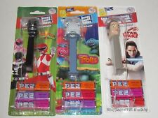 PEZ Themed Candy Dispensers Lot Of 3 - BRAND NEW